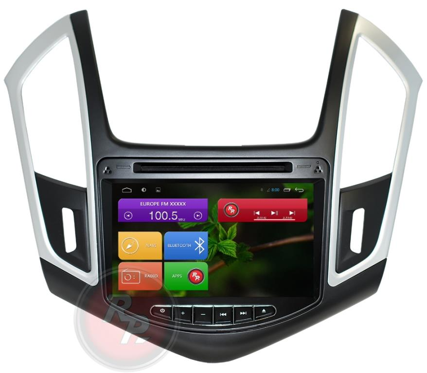 Штатная автомагнитола Android 7.1.1 Redpower 31052 Chevrolet Cruze (2013+) (с DVD приводом)